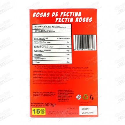 ROSAS PECTINA