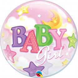 GLOBO BUBBLE SENCILLO BABY GIRL