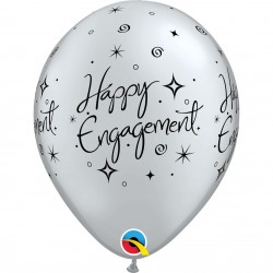 GLOBO HAPPY ENGAGEMENT PLATA