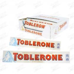 CHOCOLATINA TOBLERONE CHOCOLATE BLANCO