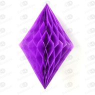DIAMANTE PAPEL MORADO DECORACION