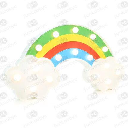 ARCO IRIS PLASTICO LUCES LED