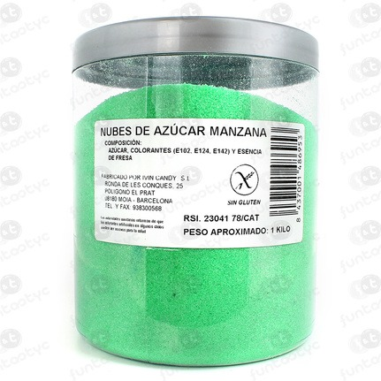 AZUCAR PARA ALGODON MANZANA