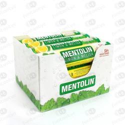 TUBO MENTOLIN LIMON Y MELISA SIN AZÚCAR