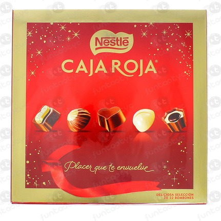 CHOCOLATE BOMBONES C.ROJA NESTLE 200 GR