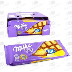 CHOCOLATINA TABLETA MILKA TUC