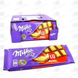 CHOCOLATINA TABLETA MILKA LU