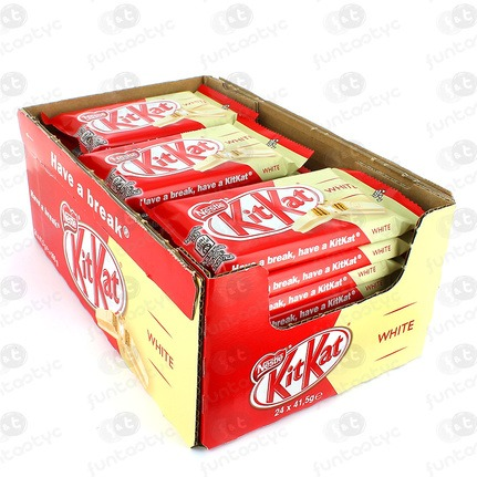 CHOCOLATINA KIT KAT WHITE