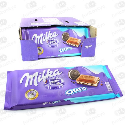 CHOCOLATINA TABLETA MILKA OREO