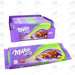 CHOCOLATINA TABLETA MILKA AVELLANAS