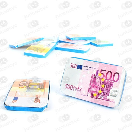 EURO BILLETES CHOCOLATE