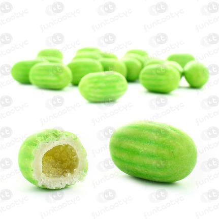 CHICLES MELONES RELLENOS PEPITAS DULCES