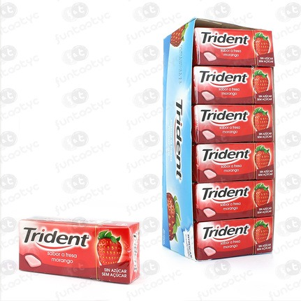 CHICLES TRIDENT GRAGEA FRUIT