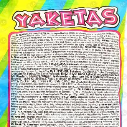 PIRULETA REDONDA YAKETA DE FRESA