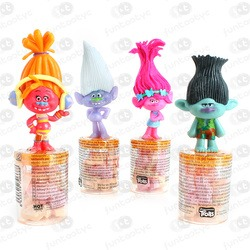MINI TOPPERS FIGURAS TROLLS