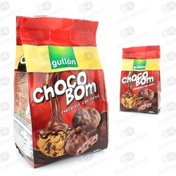 GALLETAS GULLON CHOCOBOM CON LECHE
