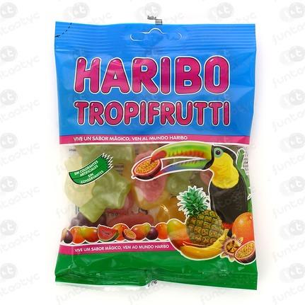 GOMAS HARIBO TROPIFRUTTI 100 GRAMOS