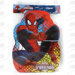 PIÑATA PERFIL SPIDERMAN ULTIMATE
