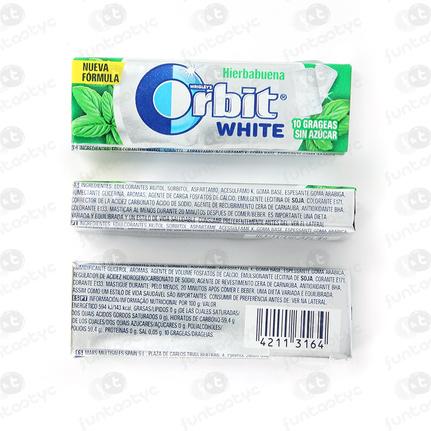 ORBIT GRAGEA WHITE HIERBA