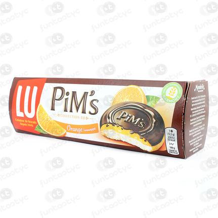 GALLETAS PIM'S LU NARANJA Y CHOCOLATE