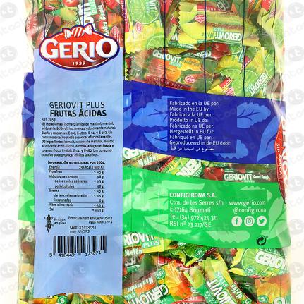 CARAMELOS GERIOVIT FRUTAS ACIDAS