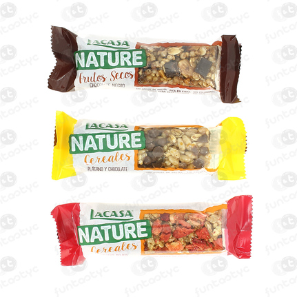 EXP. BARRITAS CEREALES LACASA NATURE