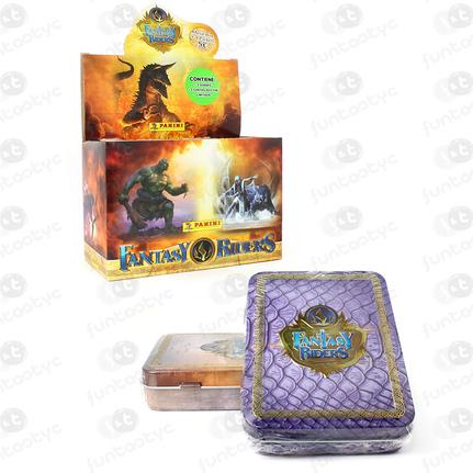 PANINI METAL BOX FANTASY RIDERS 2