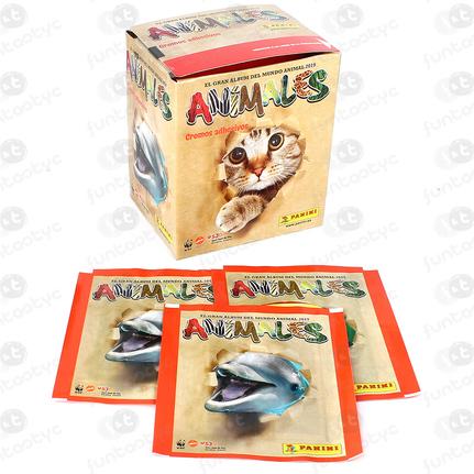 SOBRES ANIMALES 2019 PANINI