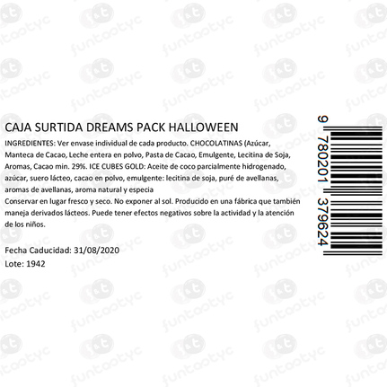DREAMS PACKS HALLOWEEN