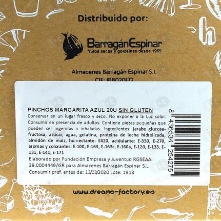 PINCHOS DE NUBE MARGARITA AMARILLO