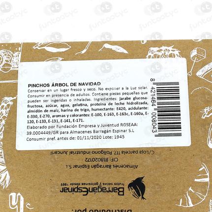PINCHOS ARBOL DE NAVIDAD