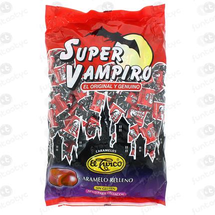 CARAMELO SUPER VAMPIRO RELLENO FRESA