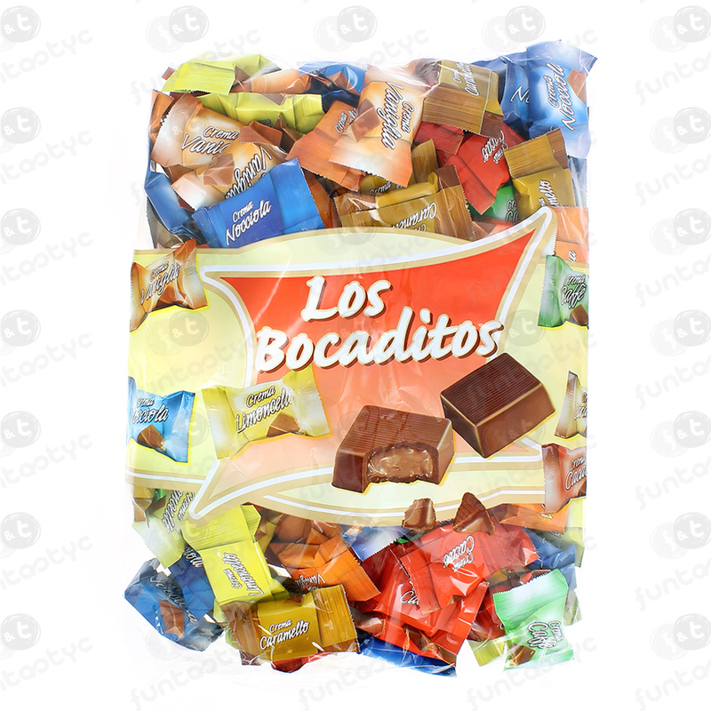 BOCADITOS CHOCOLATE STOS. 130 UDS