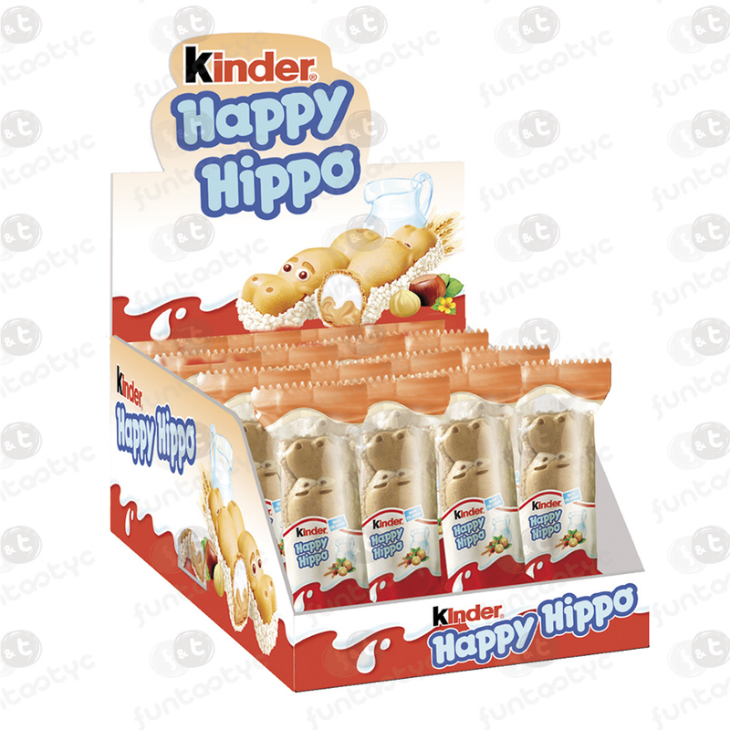 KINDER HAPPY HIPPO AVELLANA 28 UDS