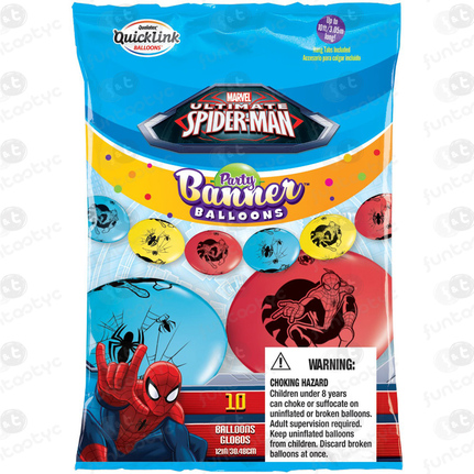 BANNER GLOBOS SPIDERMAN