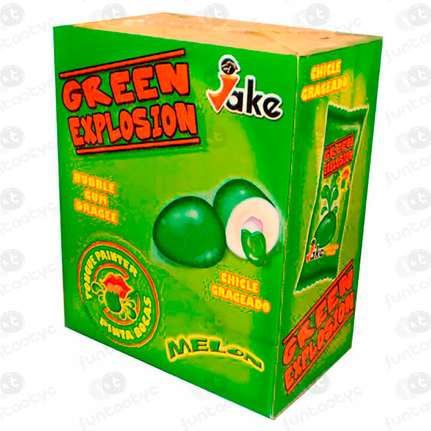 CHICLES GREEN EXPLOSION