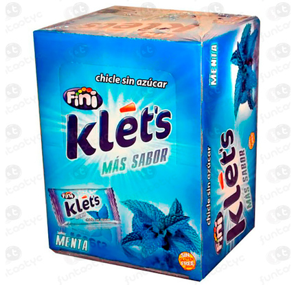 CHICLE KLETS MENTA
