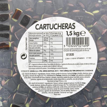 CARTUCHERAS NEGRAS