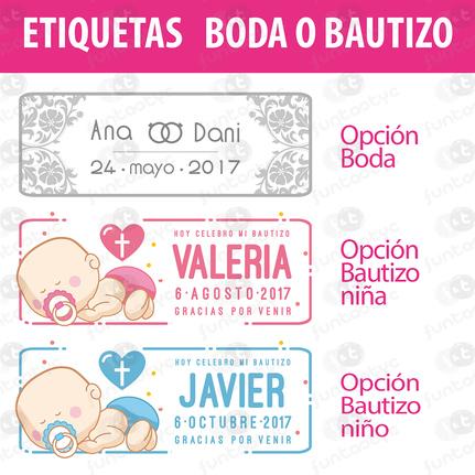 BOLSA CHUCHES SURTIDAS CUMPLES O FIESTAS