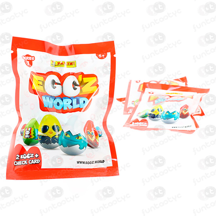 SOBRES 3D EGG'Z WORLD 30 UDS