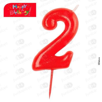 VELAS COMIC Nº2 UNIDAD (12)