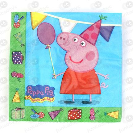 SERVILLETAS PEPPA PIG
