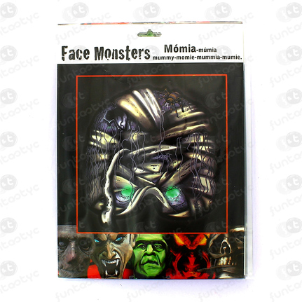 CARETAS FACE MONSTER VARIADAS