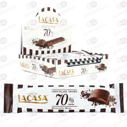 CHOCOLATINA 70 CACAO 25GRX16 UDS