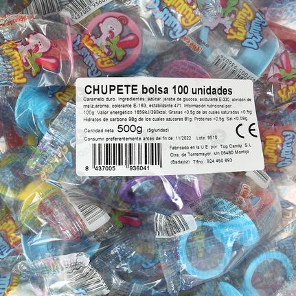 CHUPETES CARAMELO