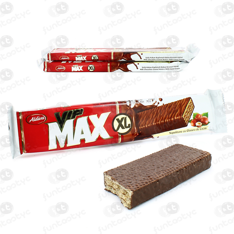 BARQUILLO VIP MAX XL 75GR 24 UDS