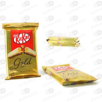 KIT KAT GOLD CARAMEL