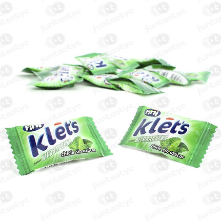 CHICLE KLETS HIERBA