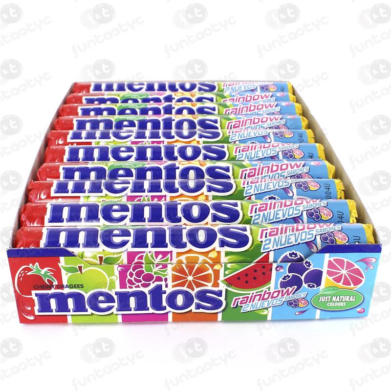 MENTOS RAINBOW 20 UDS