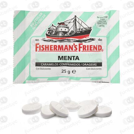 FISHERMANS MENTA SIN 12 U (VERDE)